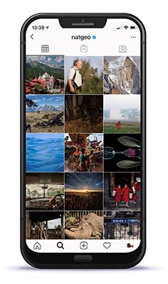 Instagram Best Practices blog NatGeo Profile